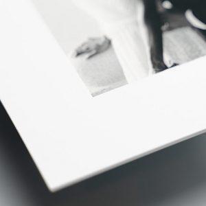 Matted Print Closeup