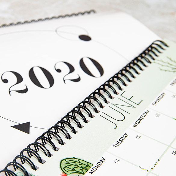 Spiral-Bound Calendars