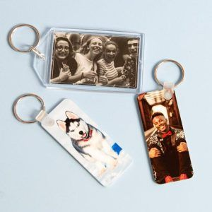 Double-Sided Keychains