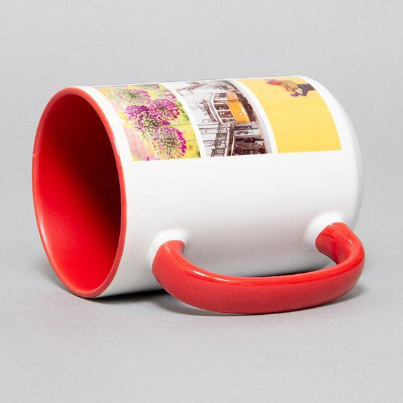 15oz Red Ceramic Mug