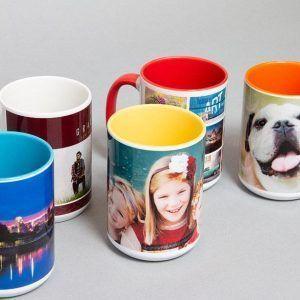 15oz Color Ceramic Mugs
