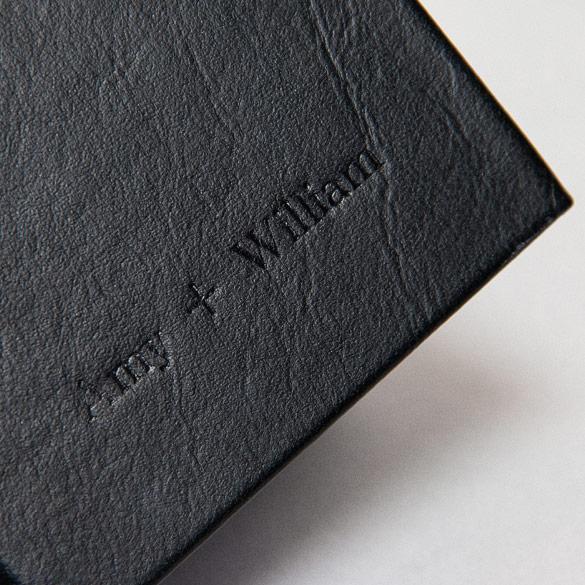 Flushmount Album with Imprint