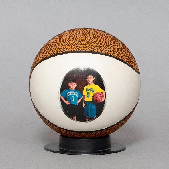 Basketball with Stand (included)