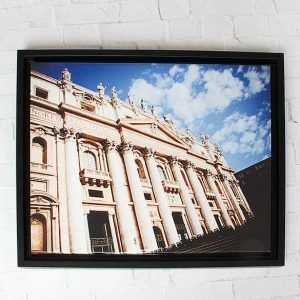 Floating Framed Gallery Wrap