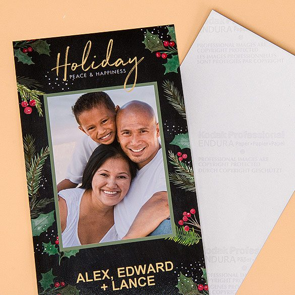 Photographic Greeting Card (4x8)