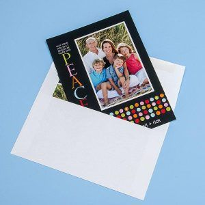 Photographic Greeting Card (5x7) with Plain White Envelope (included)