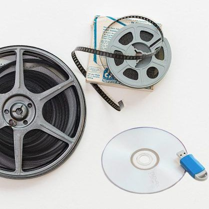 Film Reel to DVD